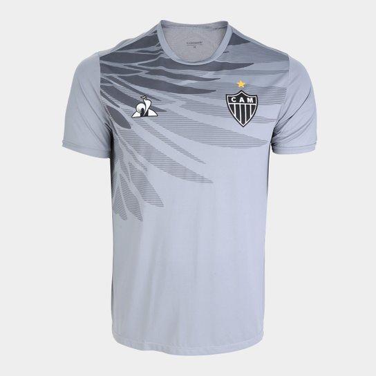 Camisa Atletico Mg 19 20 Aquecimento Le Coq Masculina Cinza Netshoes