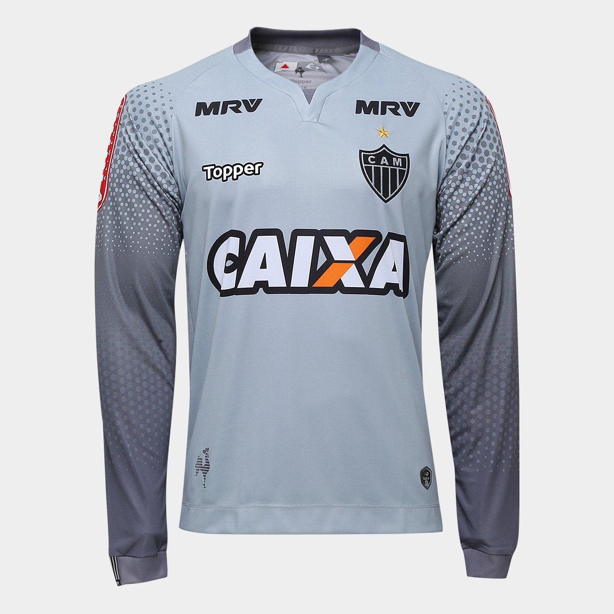 Camisa Atlético-MG Goleiro I 17 18 Manga Longa nº 1 Topper Masculina -  Compre Agora  b11a9907a23b4