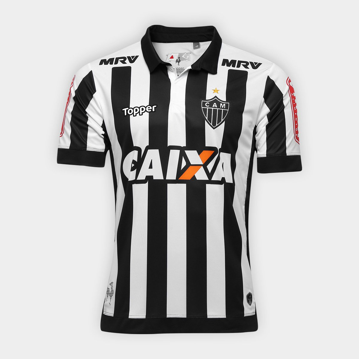 b285da15bc Camisa Atlético-MG I 17 18 s nº - Torcedor Topper Masculina - Compre ...