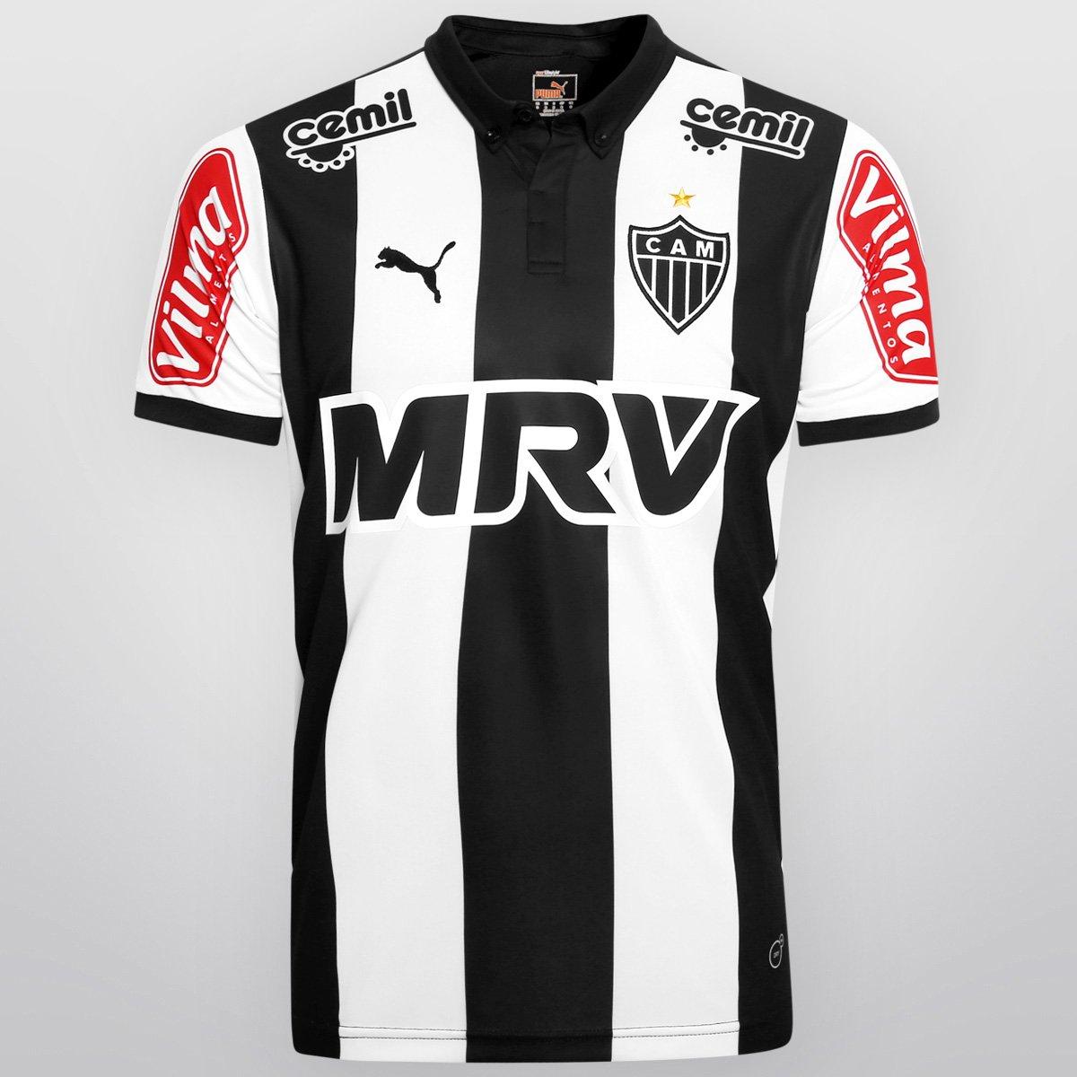Camisa Atlético-MG I 2015 s nº - Campeão da Copa do Brasil Puma Masculina - Compre  Agora  8412b3d204c63
