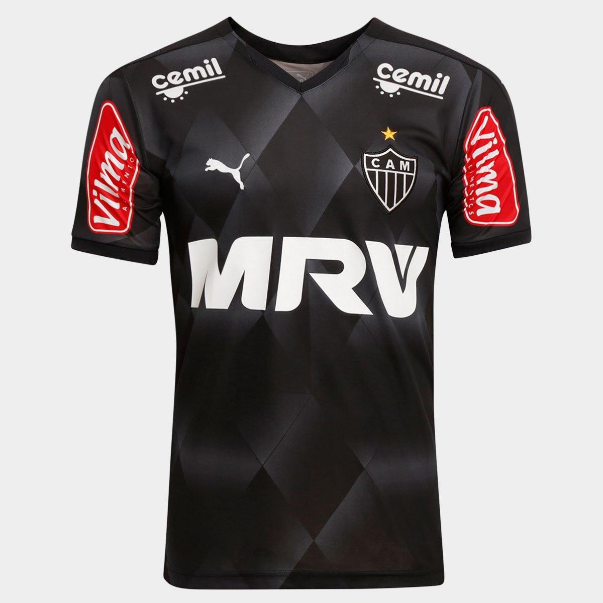 Camisa Atlético-MG III 2015 s nº Torcedor Puma Masculina - Compre Agora  de551cb1e63ab