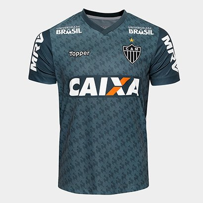 2d8d4d63cf Camisa Atlético-MG Treino 2018 Atleta Topper Masculina - Verde - Compre  Agora