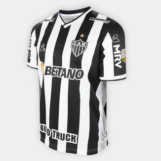 Camisa Atlético Mineiro I Libertadores 21/22 s/nº Torcedor Le Coq Masculina