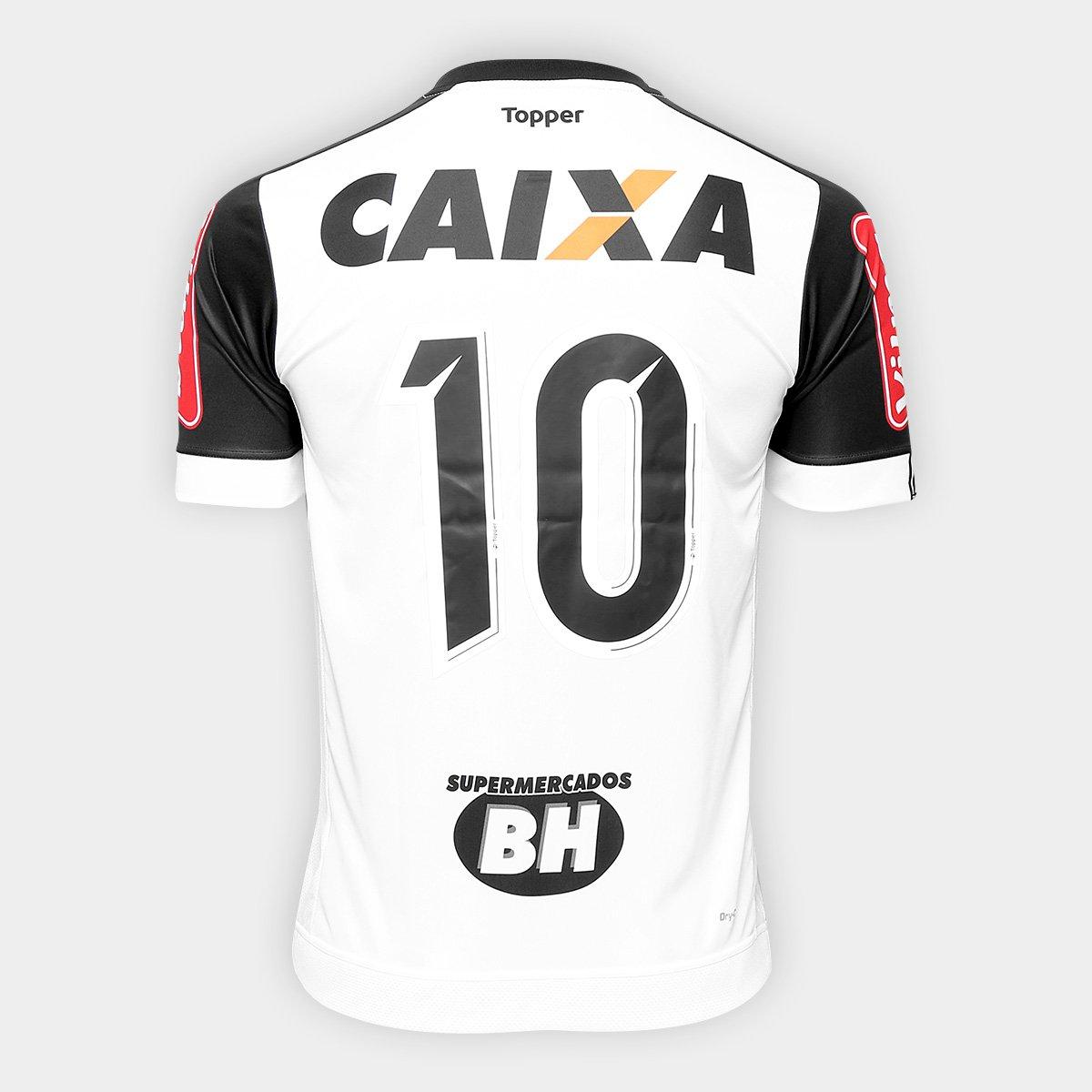0b266dd9ed ... Camisa Atlético Mineiro II 17 18 n° 10 Torcedor Topper Masculina ...