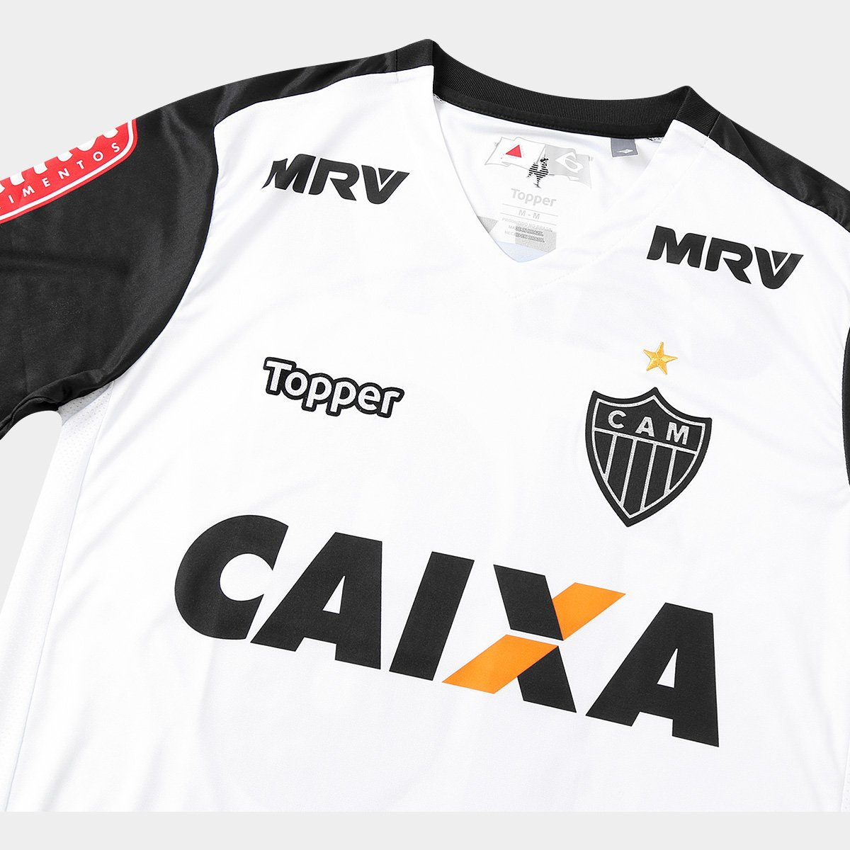 2d1d90de0e Camisa Atlético Mineiro II 17 18 n° 10 Torcedor Topper Masculina ...
