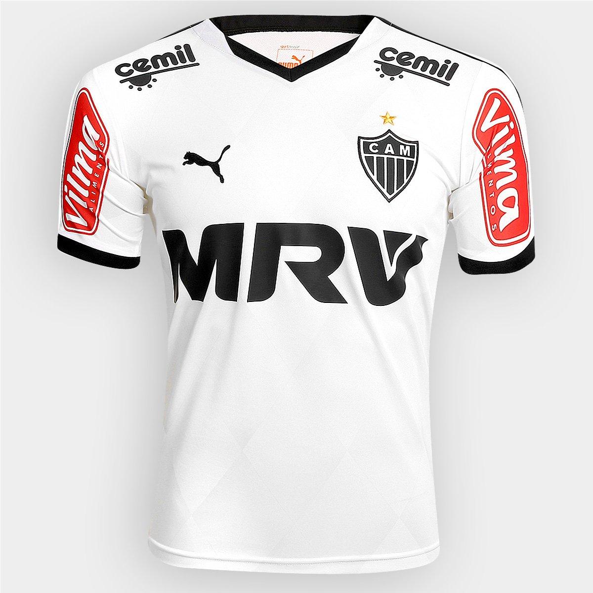 a888d6519 Camisa Atlético Mineiro II 2015 s nº Jogador Puma Masculina - Compre Agora