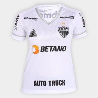 Camisa Atlético Mineiro II 21/22 s/nº Torcedor Le Coq Feminina