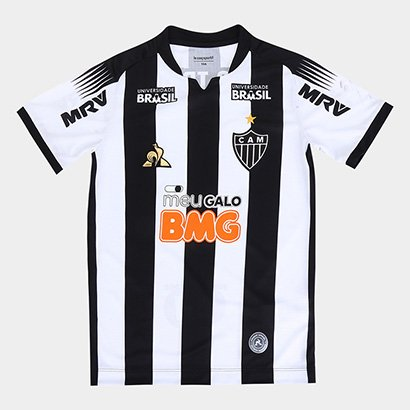 Camisa Atlético Mineiro Infantil I 19/20 s/nº Torcedor Le Coq Masculina - Masculino