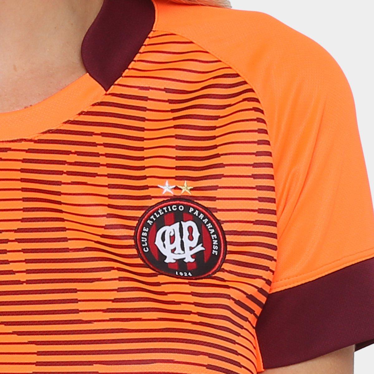 Camisa Feminina nº PR 18 Branco e Torcedor II Atlético Vermelho 10 Umbro 17 fr6wZfq