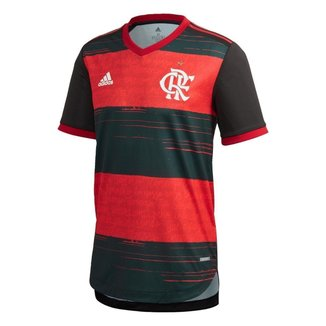 Camisa Authentic Cr Flamengo 1   Adidas  Masculina