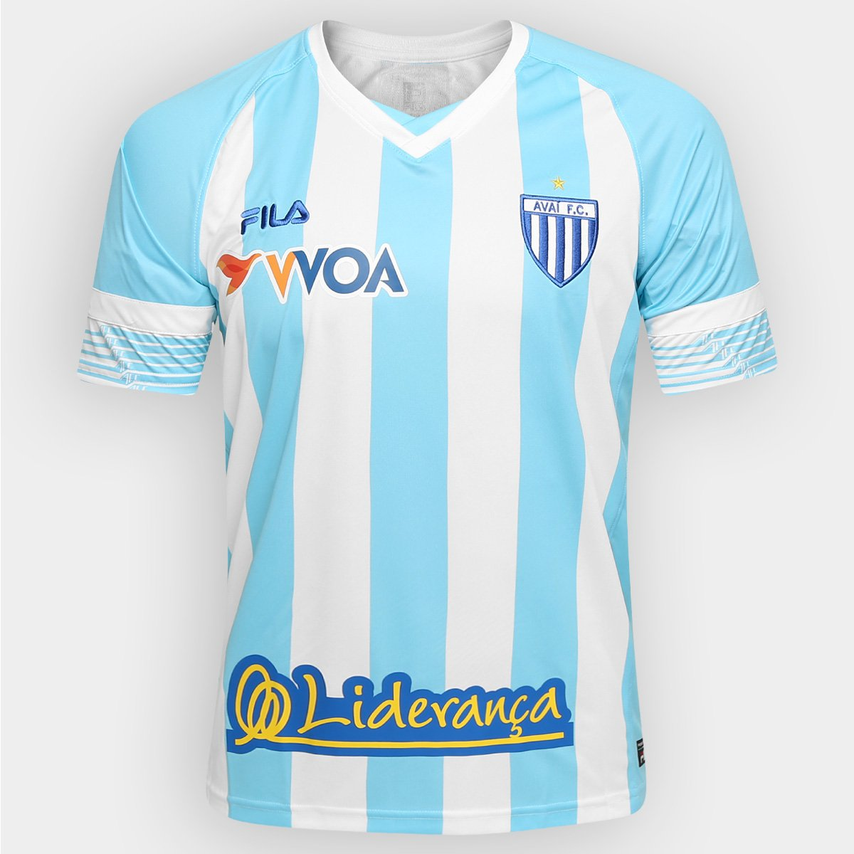 fd44b1b768 Camisa Avaí I 2016 s nº Torcedor Fila Masculina - Compre Agora ...