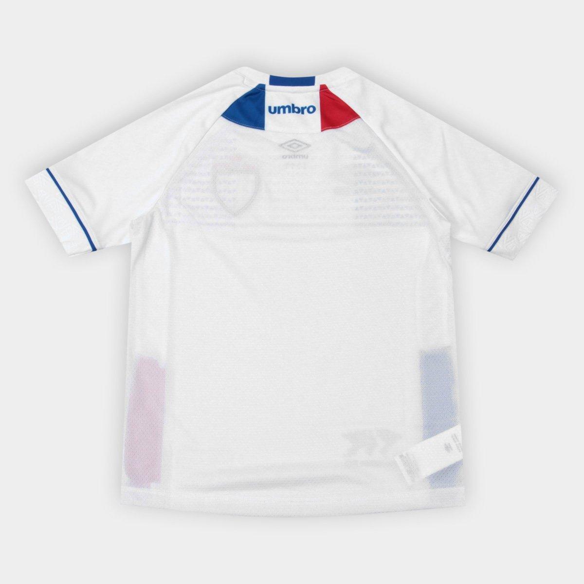 2018 n° Umbro Camisa Branco II Infantil e Azul Lion Avaí s Bleu Infantil Torcedor qUWtXnTW