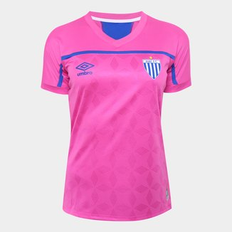 Camisa Avaí Outubro Rosa 20/21 s/n° Torcedor Umbro Feminina