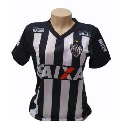 Camisa Baby Look Atlético Mineiro Feminina Produto Oficial