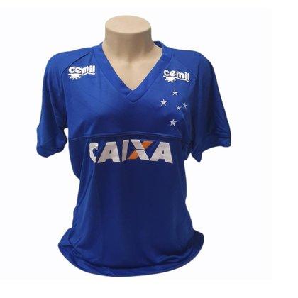 Camisa Baby Look Cruzeiro Feminina Produto Oficial