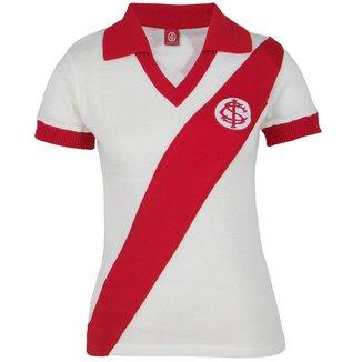 Camisa Baby Look Feminina Retrô Internacional Gola Polo Nº 9