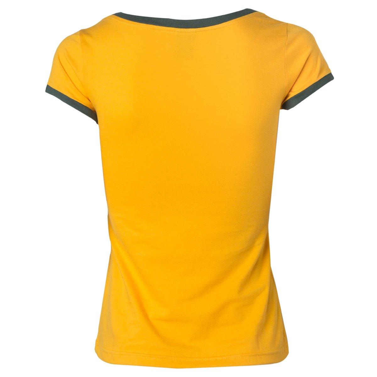 786cf8ad25 ... Camisa Baby Look Seleção Do Brasil Torcedor Retrô Gol Cotton Basic  Feminina ...