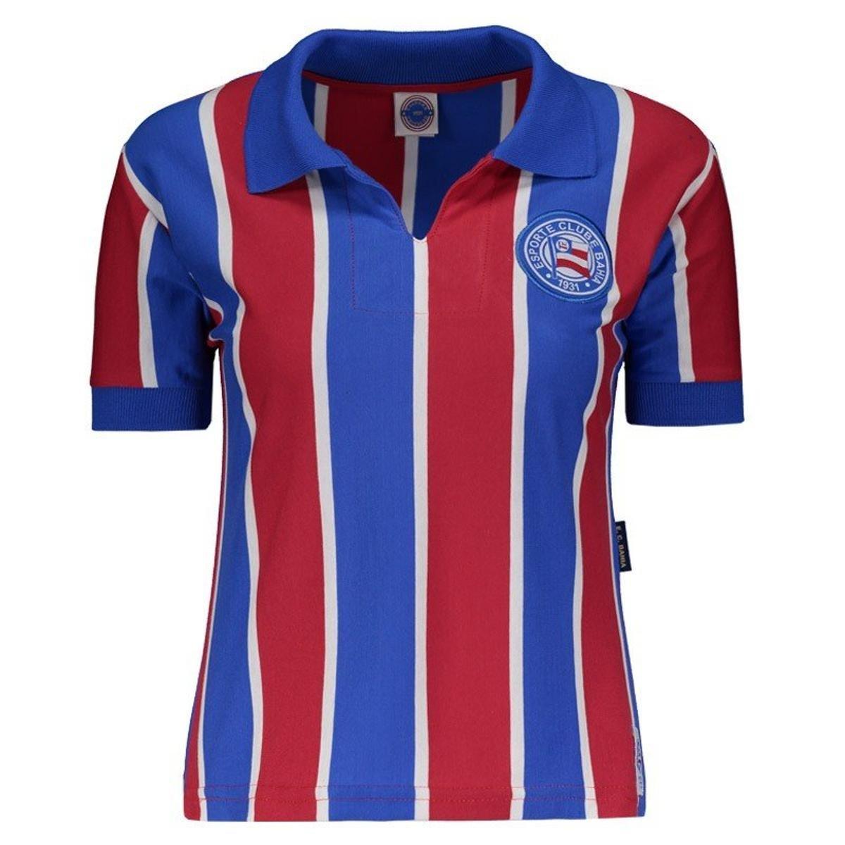 Camisa Bahia 1959 Feminina - Azul - Compre Agora  dca73d89842