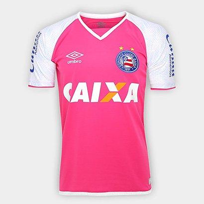 f289e989cd A Camisa Bahia Goleiro 17 18 s nº Torcedor Umbro Masculina veste com  conforto