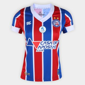 Camisa Bahia II 21/22 s/n° Torcedor Esquadrão Feminina