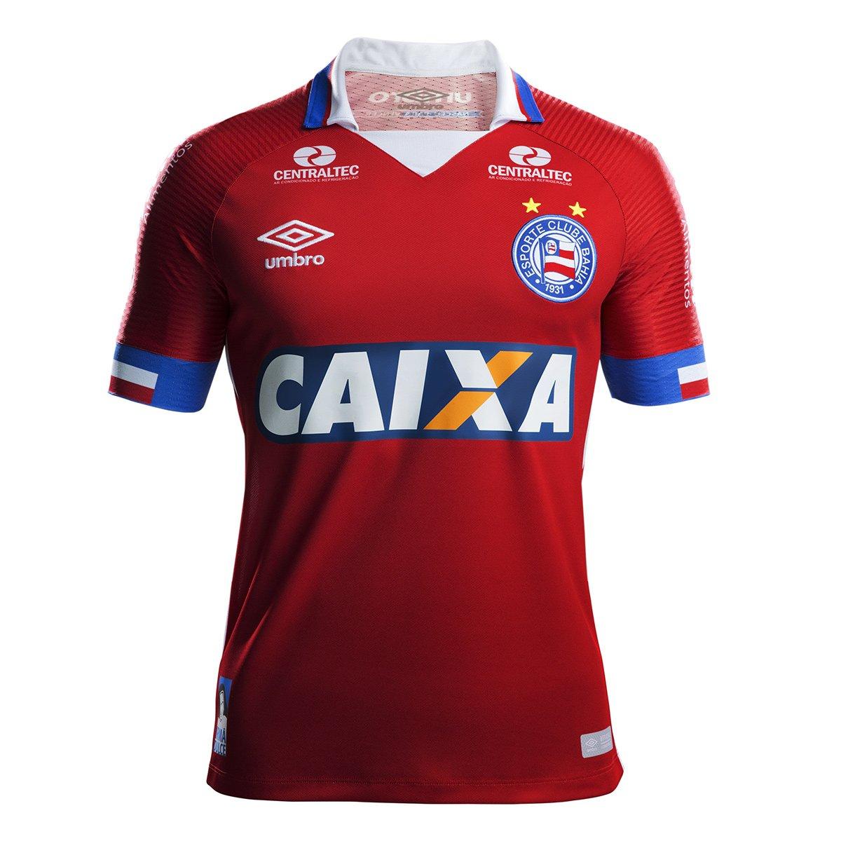 8cc615e9f5 Camisa Bahia III 17 18 s n° - Torcedor Umbro Masculina