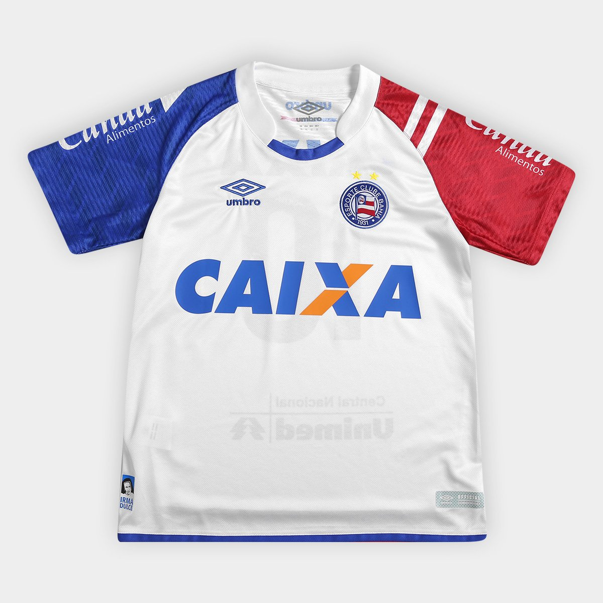 I Azul Bahia Juvenil Camisa nº 17 Umbro 10 18 e Branco Torcedor xEPw6w