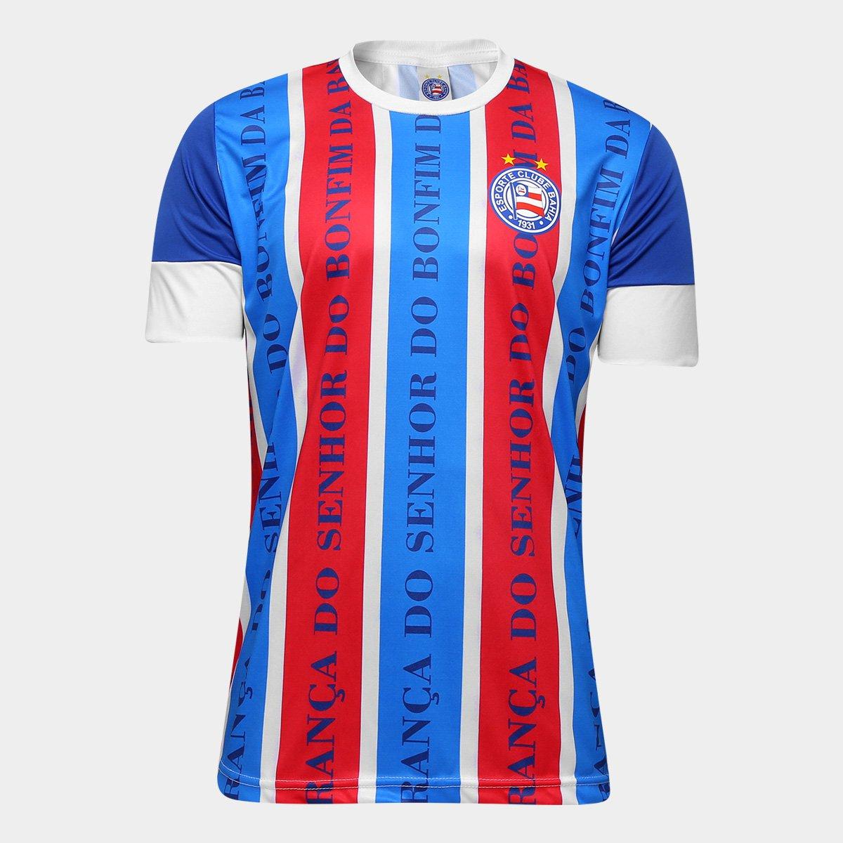 Camisa Bahia Senhor do Bonfim - Edição Limitada Masculina - Compre ... f4932af99bb4d