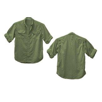 Camisa Ballyhoo Crisis  masculino fator de proteção solar 50  UPF