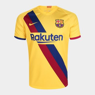 Camisa Barcelona Away 19/20 s/nº Torcedor Nike Masculina