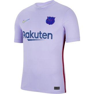 Camisa Barcelona Away 21/22 s/n° Torcedor Nike Masculina