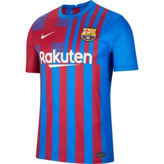 Camisa Barcelona Home 21/22 s/n° Torcedor Nike Masculina