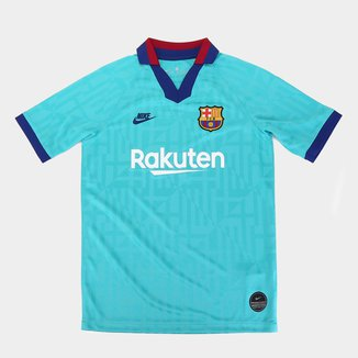 Camisa Barcelona Infantil Third 19/20 s/nº Torcedor Nike