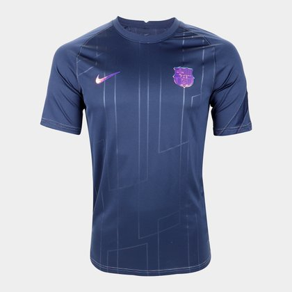 Camisa Barcelona Pré-Jogo 21/22 Nike Masculina