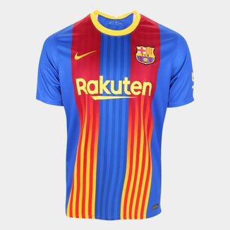 Camisa Barcelona Stadium 20/21 s/n° Torcedor Nike Masculina