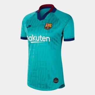 Camisa Barcelona Third 19/20 s/nº Torcedor Nike Feminina