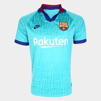 Camisa Barcelona Third 19/20 s/nº Torcedor Nike Masculina