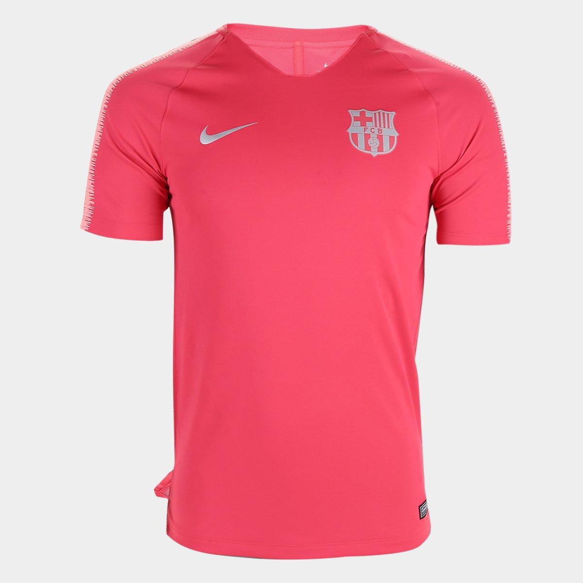 96c355db45 Camisa Barcelona Treino 2018 Nike Masculina - Vermelho - Compre Agora