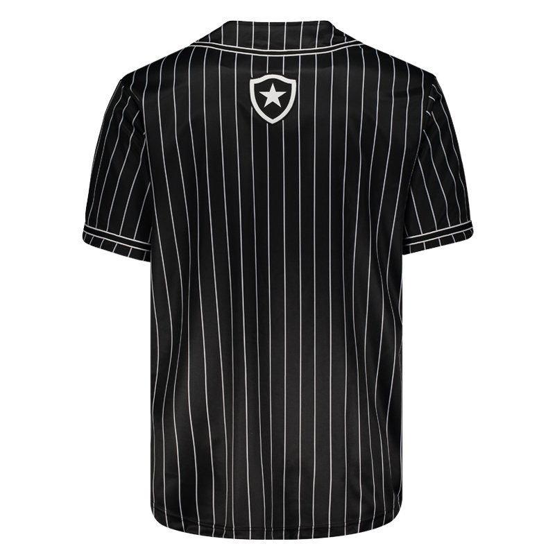 Camisa Baseball Botafogo Masculina - Preto - Compre Agora  6e72ade5397b4