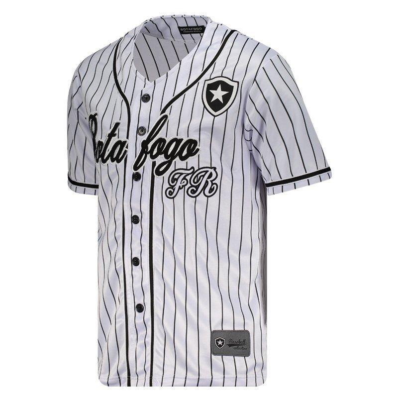 Camisa Baseball Botafogo Masculina  Camisa Baseball Botafogo Masculina ... ff44a5e16e01e