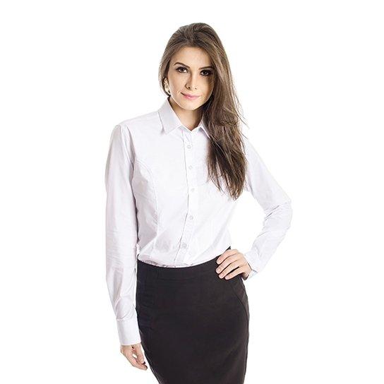 Camisa Básica Calvin Klein - Off White