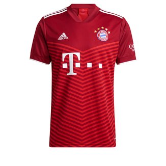 Camisa Bayern de Munique Home 21/22 s/n° Torcedor Adidas Masculina
