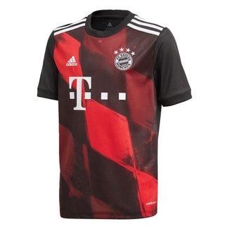 Camisa Bayern de Munique Juvenil Third 20/21 s/n° Torcedor Adidas