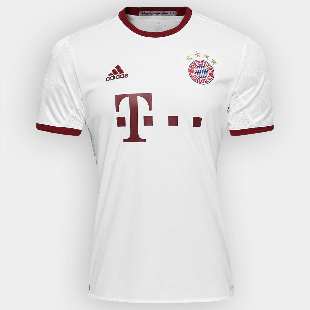 Camisa Bayern de Munique Third 16 17 s nº Torcedor Adidas Masculina -  Compre Agora  ab1fa5380772a