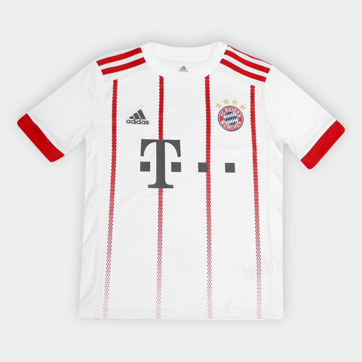 230b5c317c Camisa Bayern Munique Infantil Third 17/18 - S/N Torcedor Adidas ...