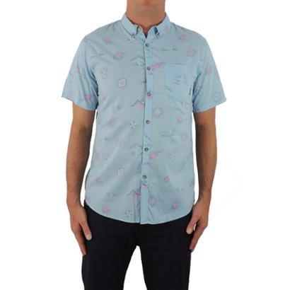Camisa Billabong Sundays Mini Seafoam Masculino