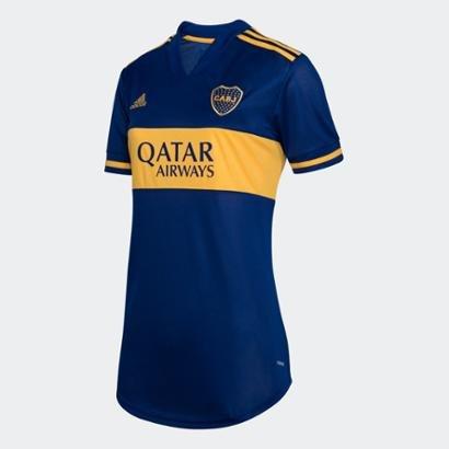 Camisa Boca Juniors Adidas - Feminino