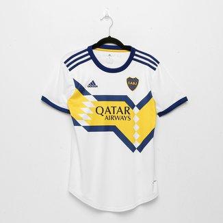 Camisa Boca Juniors Away 20/21 s/n° Torcedor Adidas Feminina