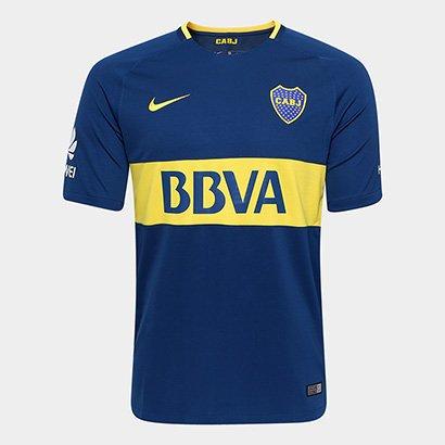 Promoção de Camisa boca juniors home torcedor nike 1617 sno ... cf04eea8ab836