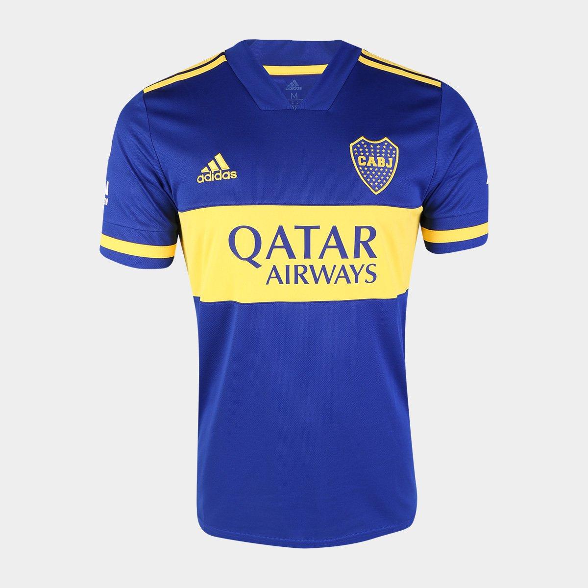 Previamente Frente virtud  Camisa Boca Juniors Home 20/21 s/n° Torcedor Adidas Masculina | Netshoes