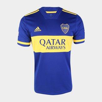 Camisa Boca Juniors Home 20/21 s/n° Torcedor Adidas Masculina